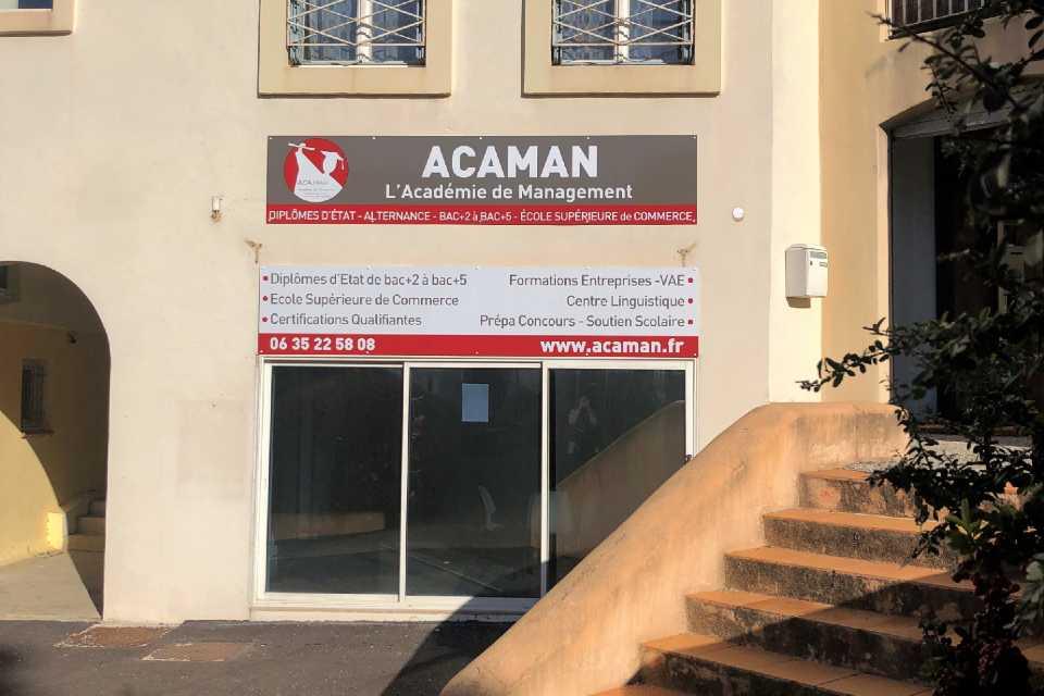 Ecole Supérieure de commerce ACAMAN Draguignan