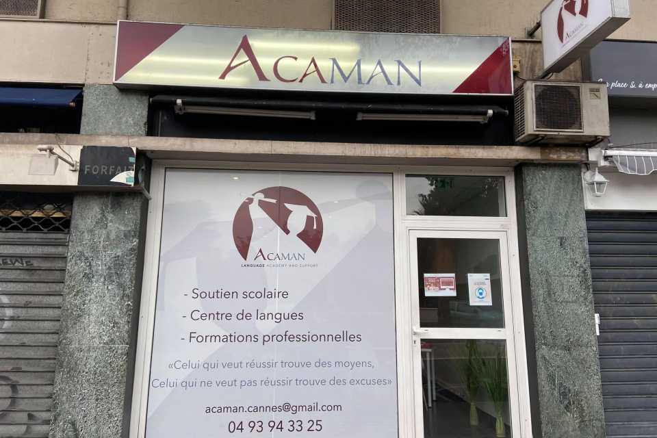 Ecole Supérieure de commerce ACAMAN Cannes